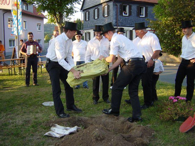 Ausgraben Kirchweih