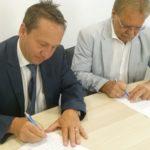 Beide Bürgermeister sind über die Zusammenarbeit froh