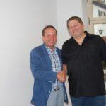 Erster Bürgermeister Norbert ist sehr dankbar über das Amt